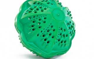 Шарики для стирки белья в стиральной машине: турмалиновые, резиновые, магнитные