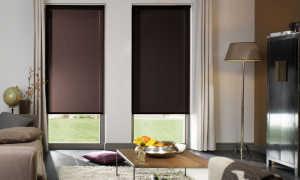 Как повесить рулонные шторы на пластиковые окна: простые способы