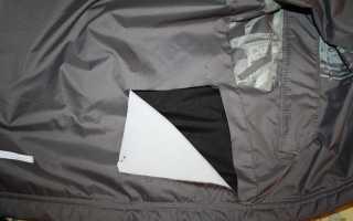 Как зашить куртку, чтобы не было видно шва на месте повреждения?