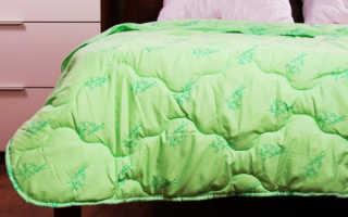 Как стирать бамбуковое одеяло в стиральной машине и вручную?