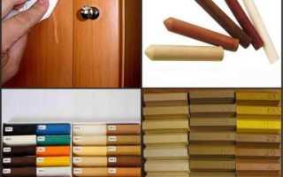 Мебельный воск – разновидности и правила применения