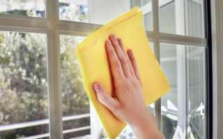 Как мыть пластиковые окна с уксусом: пропорции и технология