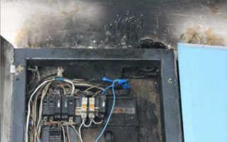 Почему нельзя тушить водой электроприборы и горящую электроповодку