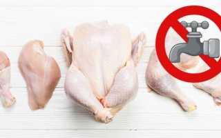 Нужно ли мыть курицу и почему нельзя этого делать перед приготовлением