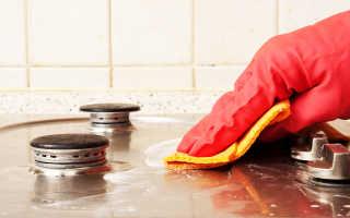 Как почистить газовую плиту в домашних условиях от жира и нагара