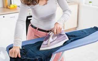 Как убрать блеск с брюк от утюга и восстановить их эстетичный вид?