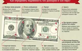 Как проверить доллары и евро на подлинность в домашних условиях?