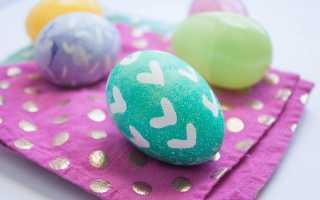 Как покрасить яйца красителями, чтобы они получились яркими: пасхальный мастер-класс