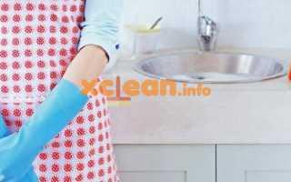 Всё наведении чистоты и порядка на кухне