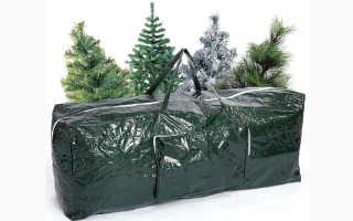 Куда и как убрать искусственную елку на хранение – инструкция по разборке и складыванию в коробку