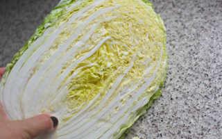 Нужно ли мыть пекинскую капусту для салата / перед употреблением, как мыть правильно