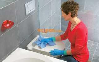 Всё о чистке и уборке в ванной и туалете, самых чистых местах дома