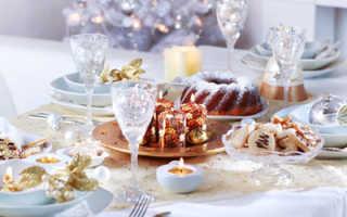 Сервировка стола на Новый год — чем она отличается от обычной