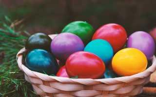 Как быстро и красиво покрасить яйца в домашних условиях к Пасхе: простые способы