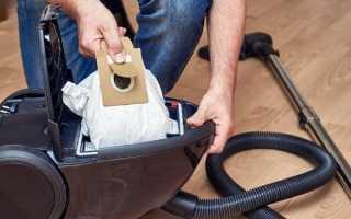 Можно ли стирать мешок от пылесоса и как это правильно сделать