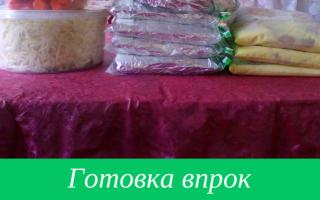 Мир продуктов: готовим, заготавливаем, наслаждаемся