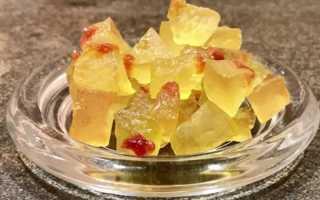 Цукаты из арбузных корочек – подробный рецепт, проверенный годами